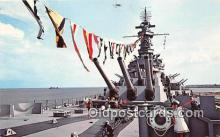 mil050516 - USS Alabama Mobile, Alabama Postcard Post Card