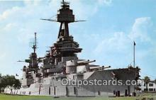 mil050519 - Battleship Texas San Jacinto Battlegrounds, Houston, TX Postcard Post Card