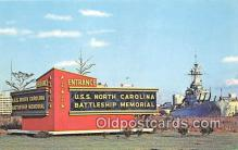 mil050526 - USS Carolina Battleship Wilmington, North Carolina Postcard Post Card