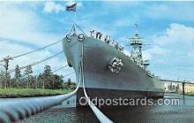 mil050533 - USS North Carolina Wilmington, North Carolina Postcard Post Card