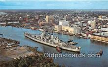 mil050534 - USS North Carolina Wilmington, North Carolina Postcard Post Card