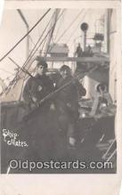 mil050578 - Ship Mates, USS Paduch  Postcard Post Card