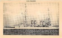 mil050601 - USS Raleigh  Postcard Post Card