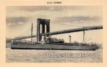 mil050603 - USS Dobbin  Postcard Post Card
