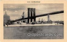 mil050605 - USS Marblehead  Postcard Post Card