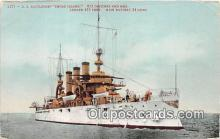 mil050618 - US Battleship Rhode Island  Postcard Post Card