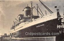 mil050633 - Reproduced from Original Photo SS United States  Postcard Post Card