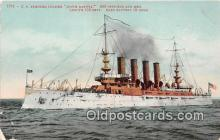 mil050642 - US Armored Cruiser  Postcard Post Card