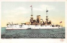 mil050683 - USS Illinois  Postcards Post Cards Old Vintage Antique