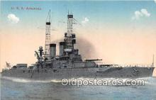 mil050686 - USS Arkansas  Postcards Post Cards Old Vintage Antique