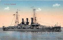 mil050688 - USS Vermont  Postcards Post Cards Old Vintage Antique