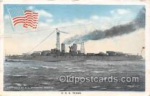 mil050689 - USS Texas  Postcards Post Cards Old Vintage Antique