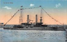 mil050699 - USS Iowa  Postcards Post Cards Old Vintage Antique