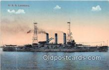 mil050700 - USS Louisiana  Postcards Post Cards Old Vintage Antique