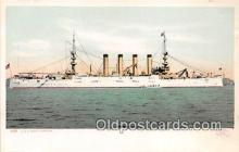 mil050708 - USS West Virginia  Postcards Post Cards Old Vintage Antique