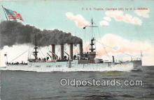 mil050713 - USS Virginia  Postcards Post Cards Old Vintage Antique