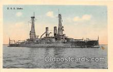 mil050717 - USS Idaho  Postcards Post Cards Old Vintage Antique