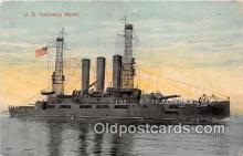 mil050719 - US Battleship Maine  Postcards Post Cards Old Vintage Antique