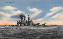 mil051046 - Military Battleship Postcard, Old Vintage Antique Military Ship Post Card