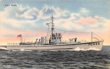 mil051053 - Military Battleship Postcard, Old Vintage Antique Military Ship Post Card