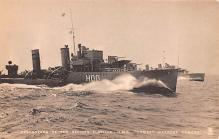 mil051055 - Military Battleship Postcard, Old Vintage Antique Military Ship Post Card