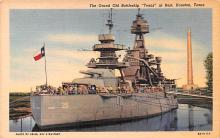 mil051056 - Military Battleship Postcard, Old Vintage Antique Military Ship Post Card