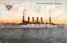 mil051064 - Military Battleship Postcard, Old Vintage Antique Military Ship Post Card