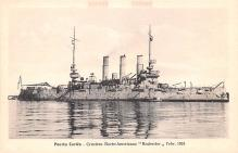 mil051083 - Military Battleship Postcard, Old Vintage Antique Military Ship Post Card