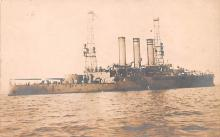 mil051095 - Military Battleship Postcard, Old Vintage Antique Military Ship Post Card