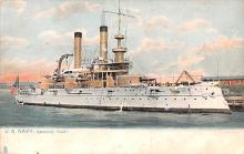 mil051099 - Military Battleship Postcard, Old Vintage Antique Military Ship Post Card