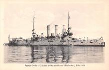 mil051101 - Military Battleship Postcard, Old Vintage Antique Military Ship Post Card