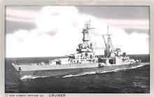 mil051109 - Military Battleship Postcard, Old Vintage Antique Military Ship Post Card