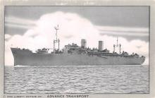 mil051110 - Military Battleship Postcard, Old Vintage Antique Military Ship Post Card