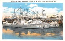 mil051116 - Military Battleship Postcard, Old Vintage Antique Military Ship Post Card