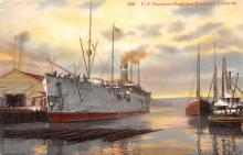 mil051127 - Military Battleship Postcard, Old Vintage Antique Military Ship Post Card