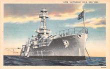 mil051143 - Military Battleship Postcard, Old Vintage Antique Military Ship Post Card