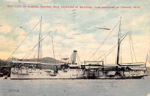 mil051159 - Military Battleship Postcard, Old Vintage Antique Military Ship Post Card