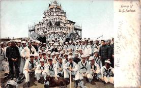 mil051160 - Military Battleship Postcard, Old Vintage Antique Military Ship Post Card