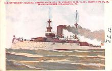 mil051165 - Military Battleship Postcard, Old Vintage Antique Military Ship Post Card