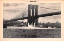 mil051187 - Military Battleship Postcard, Old Vintage Antique Military Ship Post Card