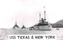 mil051192 - Military Battleship Postcard, Old Vintage Antique Military Ship Post Card