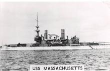 mil051193 - Military Battleship Postcard, Old Vintage Antique Military Ship Post Card