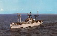 mil051208 - Military Battleship Postcard, Old Vintage Antique Military Ship Post Card