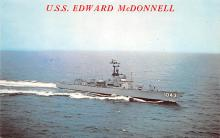 mil051213 - Military Battleship Postcard, Old Vintage Antique Military Ship Post Card
