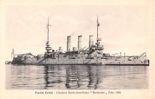 mil051222 - Military Battleship Postcard, Old Vintage Antique Military Ship Post Card