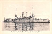 mil051223 - Military Battleship Postcard, Old Vintage Antique Military Ship Post Card