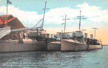 mil051224 - Military Battleship Postcard, Old Vintage Antique Military Ship Post Card