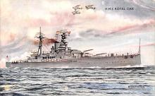 mil051244 - Military Battleship Postcard, Old Vintage Antique Military Ship Post Card