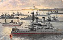 mil051250 - Military Battleship Postcard, Old Vintage Antique Military Ship Post Card