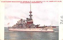 mil051252 - Military Battleship Postcard, Old Vintage Antique Military Ship Post Card